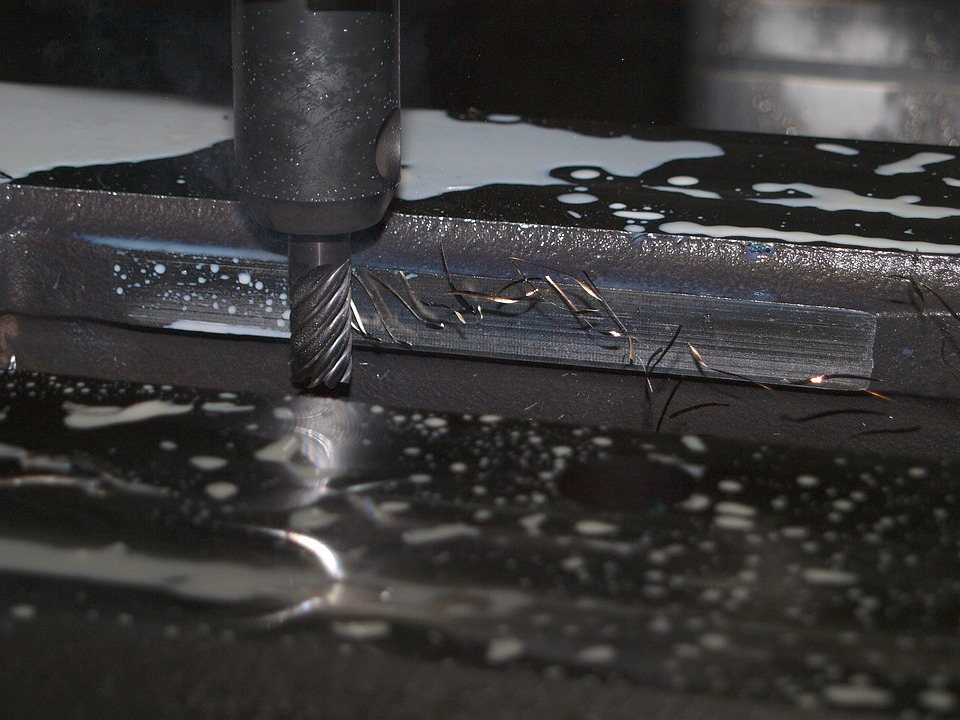 frézování kovu