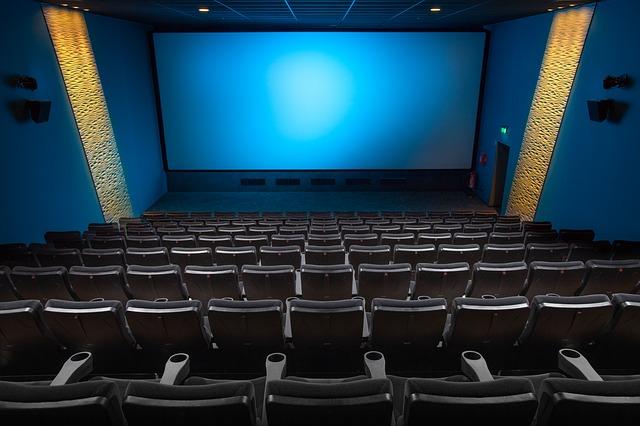 prázdný sál kina