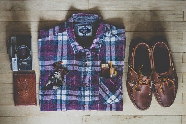 Nachystaný retro outfit