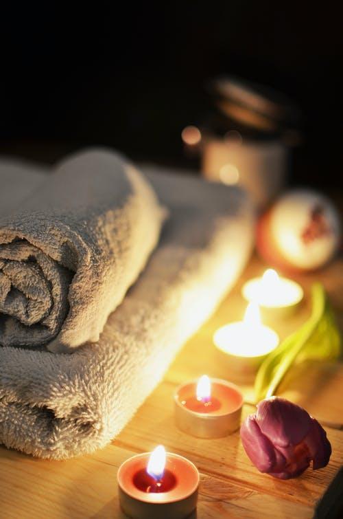 ručník svíčky