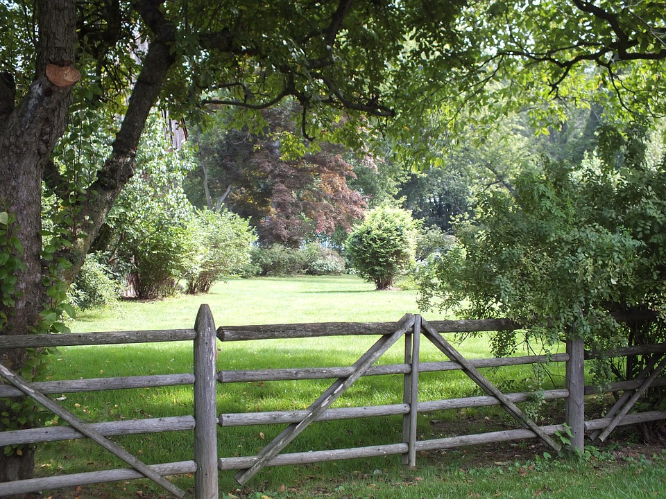 vstup na zahradu